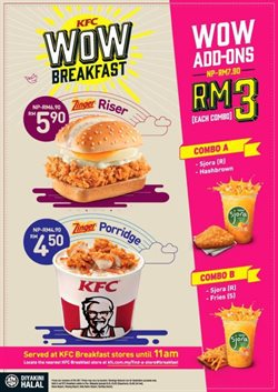 Offers from KFC in the Petaling Jaya leaflet