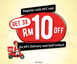 KFC coupon ( More than a month )