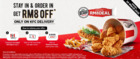 KFC coupon in Ipoh ( 1 day ago )