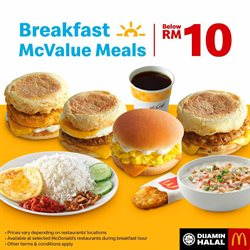 McDonald's offers in McDonald's catalogue ( Expired)