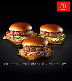 McDonald's catalogue ( More than a month)
