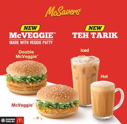 Offers from McDonald's in the Klang leaflet
