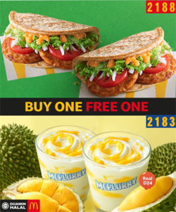 Offers from McDonald's in the Kuching leaflet