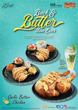 Offers from Kenny Rogers Roaster in the Kuala Lumpur leaflet