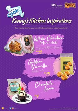 Kenny Rogers Roaster catalogue ( Expired)