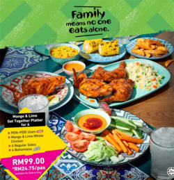 Offers from Nando's in the Kuala Lumpur leaflet