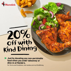 Nando's coupon in Klang ( 25 days left )
