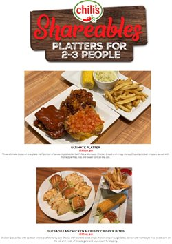 Chili's offers in Chili's catalogue ( Published today)