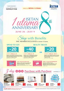 Department Stores offers in the Isetan catalogue ( 5 days left )