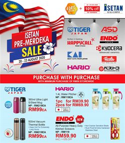 Department Stores offers in the Isetan catalogue in Klang ( Published today )