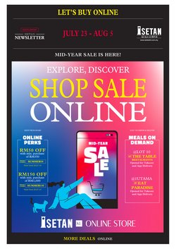 Department Stores offers in Isetan catalogue ( Published today)