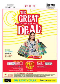 Department Stores offers in Isetan catalogue ( 2 days left)