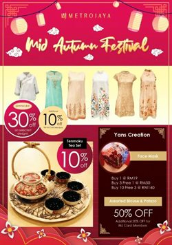Department Stores offers in the Metrojaya catalogue in Johor Bahru ( 3 days left )