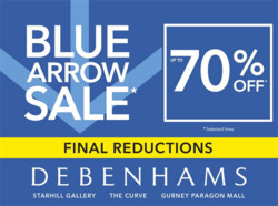 Debenhams coupon in Petaling Jaya ( More than a month )