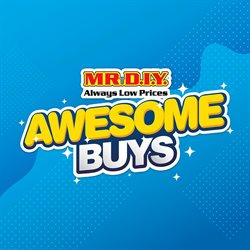 Home & Furniture offers in the Mr DIY catalogue in Sunway-Subang Jaya  ( 3 days ago )