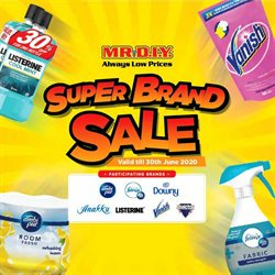 Home & Furniture offers in the Mr DIY catalogue in Kajang-Bangi ( 24 days left )