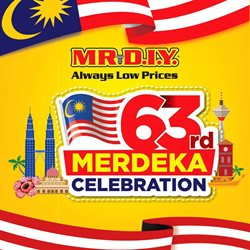 Home & Furniture offers in the Mr DIY catalogue in Putrajaya ( 16 days left )