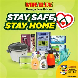 Home & Furniture offers in the Mr DIY catalogue in Kajang-Bangi ( 2 days ago )
