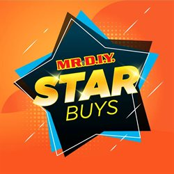 Offers from Mr DIY in the Melaka leaflet