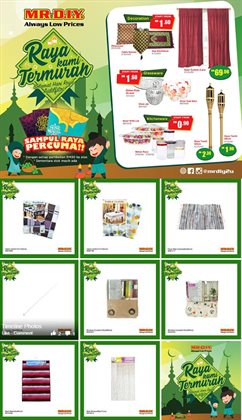 Offers from Mr DIY in the Sunway-Subang Jaya  leaflet