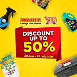 Offers from Mr DIY in the Shah Alam leaflet