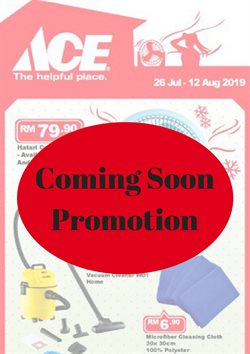 Offers from Ace Hardware in the Sunway-Subang Jaya  leaflet