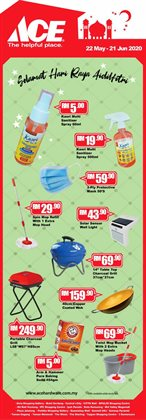 Ace Hardware catalogue in Shah Alam ( 18 days left )