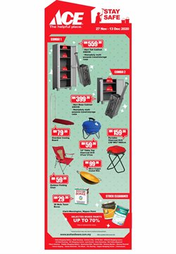 Ace Hardware offers in Ace Hardware catalogue ( Expired)