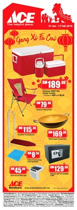 Offers from Ace Hardware in the Kuala Lumpur leaflet