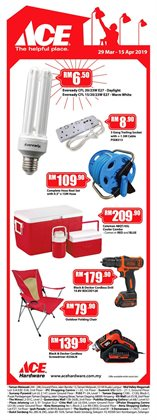 Offers from Ace Hardware in the Kajang-Bangi leaflet