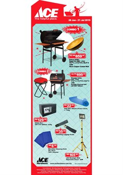 Offers from Ace Hardware in the Klang leaflet