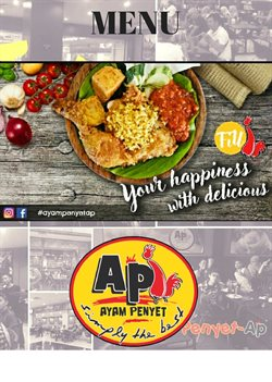 Offers from Ayam Penyet in the Kuala Lumpur leaflet