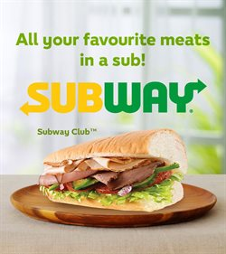 Offers from Subway in the Penang leaflet