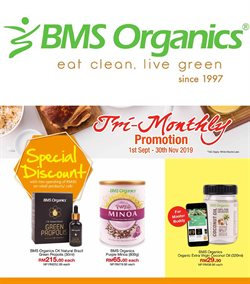 Offers from BMS Organics in the Penang leaflet