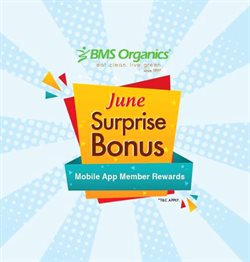 Restaurants offers in the BMS Organics catalogue in Shah Alam