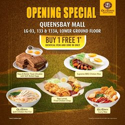 Offers from Oldtown White Coffee in the Penang leaflet