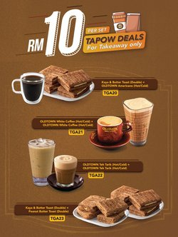 Restaurants offers in Oldtown White Coffee catalogue ( 10 days left)