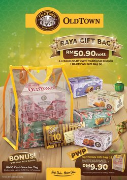 Oldtown White Coffee offers in Oldtown White Coffee catalogue ( Expired)