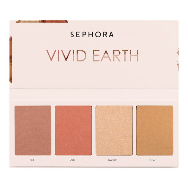 Vivid Earth Face Palette offers at RM 62.3