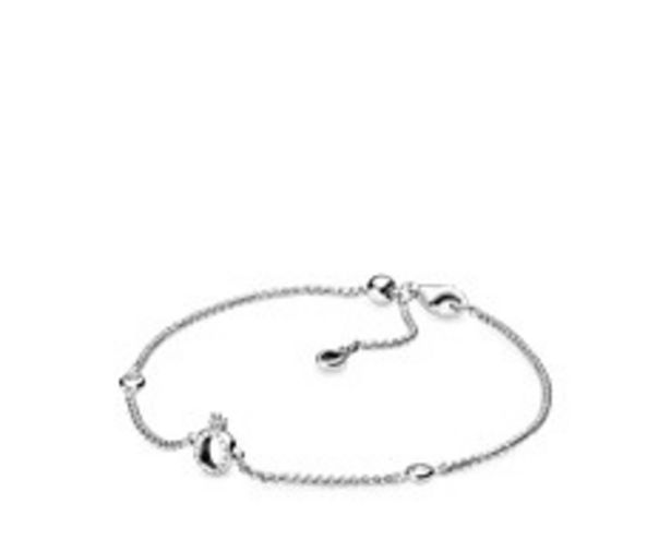 Sparkling Crown O Chain Bracelet offers at RM 289