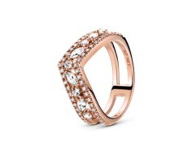Sparkling Marquise Double Wishbone Ring offers at RM 619
