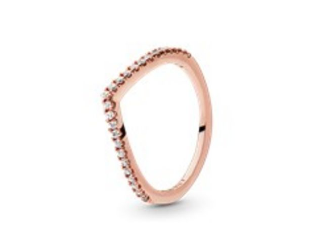 Sparkling Wishbone Ring offers at RM 216