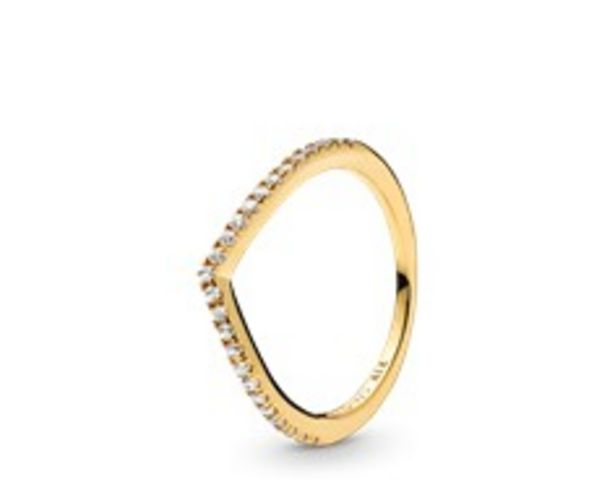 Sparkling Wishbone Ring offers at RM 289