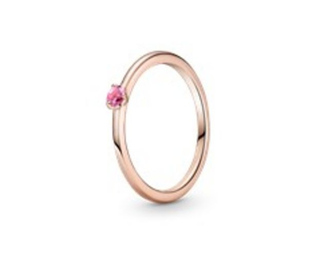 Pink Solitaire Ring offers at RM 189