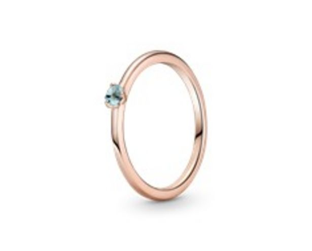 Light Blue Solitaire Ring offers at RM 189