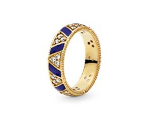 Blue Stripes & Stones Ring offers at RM 479