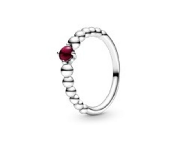 Dark Red Beaded Ring offers at RM 219