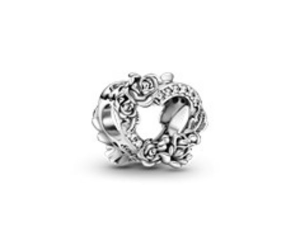 Open Heart & Rose Flowers Charm offers at RM 189