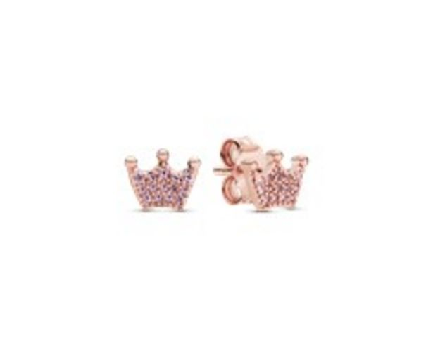 Pink Crown Stud Earrings offers at RM 272