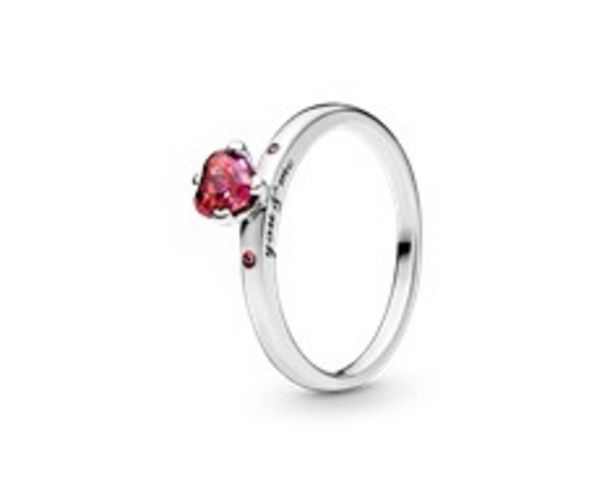Sparkling Red Heart Ring offers at RM 216